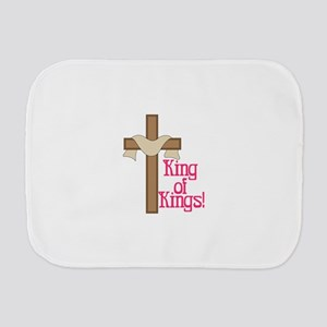 King Of Kings Burp Cloth