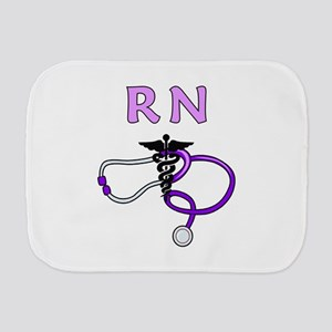 RN Nurse Medical Burp Cloth