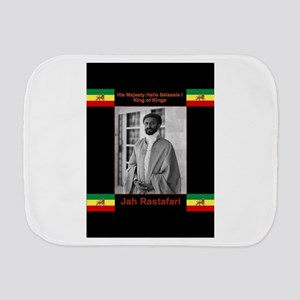 Haile-Selassie-Jah_Rastafari Burp Cloth