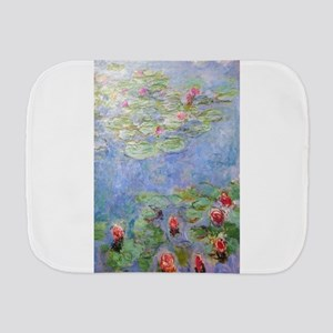 Claude Monet's Water Lilies Burp Cloth