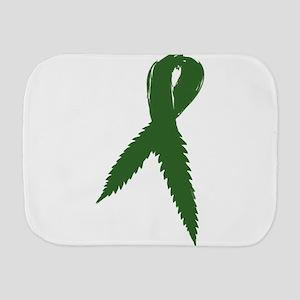 Medical Marijuana Ribbon Burp Cloth