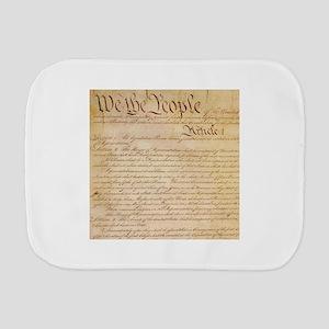 US CONSTITUTION Burp Cloth