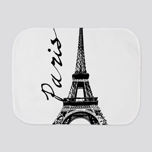 Paris Eifel Burp Cloth