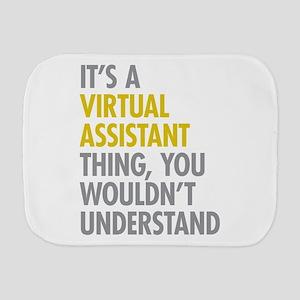 Virtual Assistant Thing Burp Cloth
