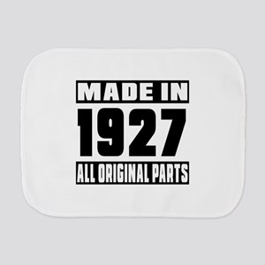Made In 1927 Burp Cloth