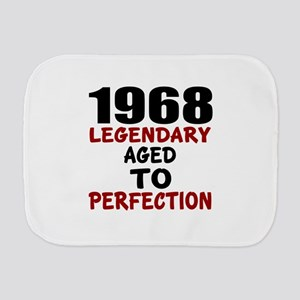 1968 Legendary Aged To Perfection Burp Cloth
