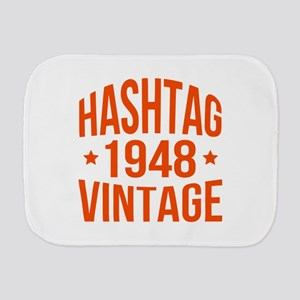 Hashtag 1948 Vintage Burp Cloth