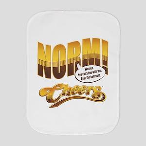 Norm Quote Burp Cloth
