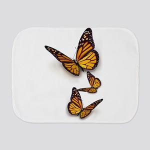 Monarch Butterlies Burp Cloth