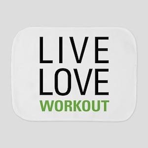Live Love Workout Burp Cloth