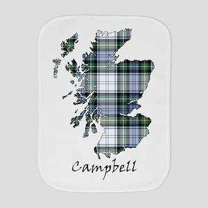 Map-Campbell dress Burp Cloth