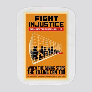 Fight Injustice Burp Cloth
