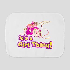 4x4 Girl Thing Burp Cloth
