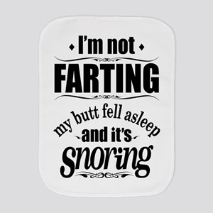Fart Snoring Burp Cloth