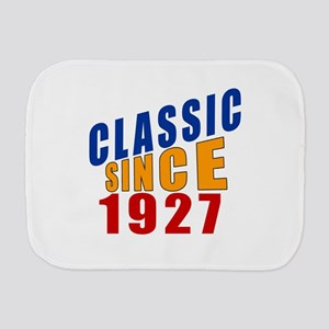 Classic Since 1927 Burp Cloth