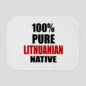 100 % Pure Lithuanian Native Burp Cloth