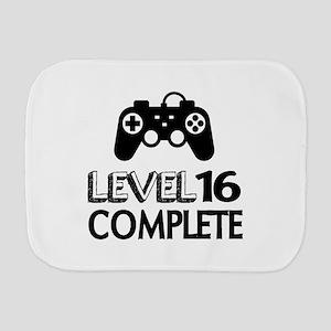 Level 16 Complete Birthday Designs Burp Cloth