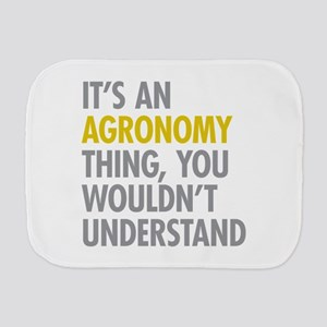 Its An Agronomy Thing Burp Cloth