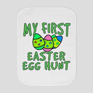 My 1st Easter Egg Hunt Burp Cloth