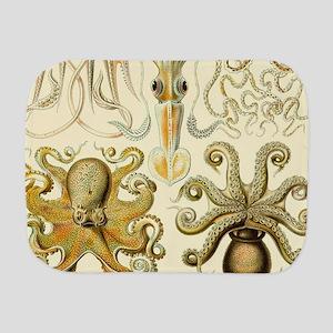 Vintage Octopus, Octopi Burp Cloth