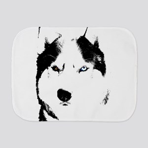 Husky Bi-Eye Husky Dog Burp Cloth