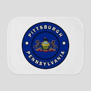 Pittsburgh Pennsylvania Burp Cloth