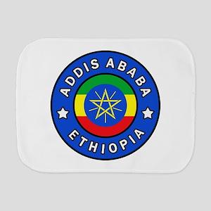 Addis Ababa Ethiopia Burp Cloth