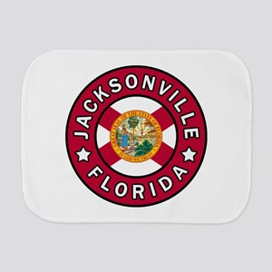 Jacksonville Florida Burp Cloth