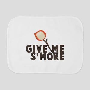 Give Me Smore Burp Cloth