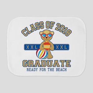 2018 Grad Burp Cloth