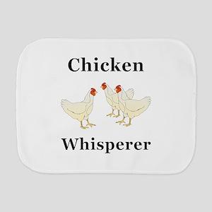 Chicken Whisperer Burp Cloth