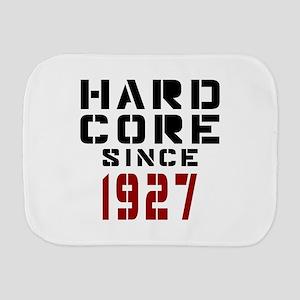 Hard Core Since 1927 Burp Cloth