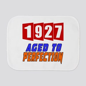 1927 Aged To Perfection Burp Cloth