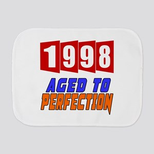 1998 Aged To Perfection Burp Cloth