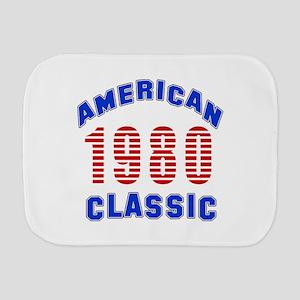 American Classic 1980 Burp Cloth