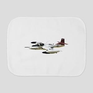 A-37 Dragonfly Aircraft Burp Cloth