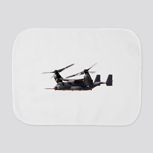V-22 Osprey Aircraft Burp Cloth
