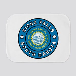 Sioux Falls South Dakota Burp Cloth