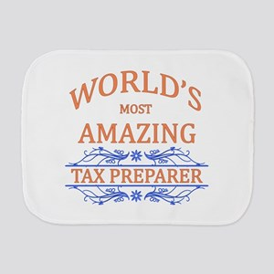 Tax Preparer Burp Cloth