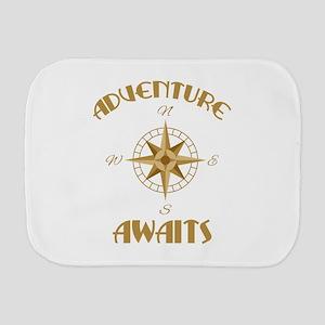 Adventure Awaits Burp Cloth