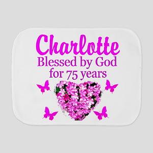 CHRISTIAN 75TH Burp Cloth