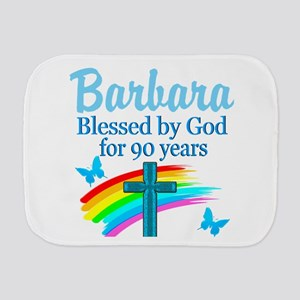 CHRISTIAN 90TH Burp Cloth