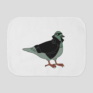 Cool Pigeon Burp Cloth