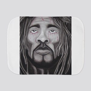 Black Jesus Burp Cloth