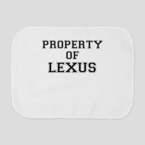 Property of LEXUS Burp Cloth
