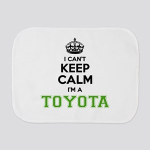TOYOTA I cant keeep calm Burp Cloth