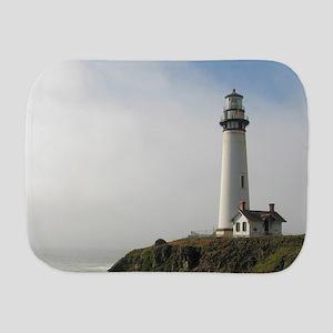 Lighthouse on Cliff Burp Cloth