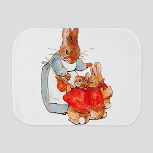 Flopsy, Mopsy and Cottontail Burp Cloth