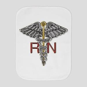 RN Medical Symbol Burp Cloth