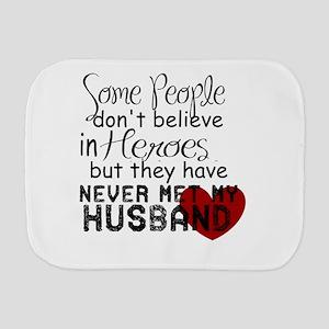 Husband hero Burp Cloth